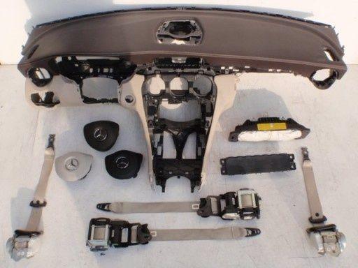Mercedes GLC X253 W253 kit airbag plansa bord centuri orice culoare