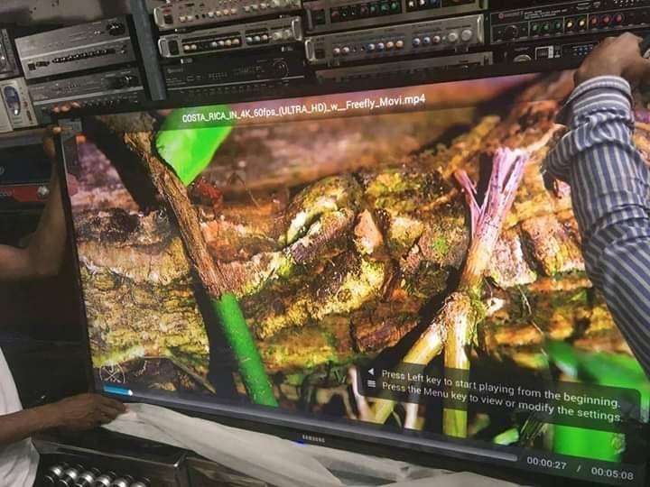 "TV Samsung 55""Polegadas LEDSmart Full Ultra"