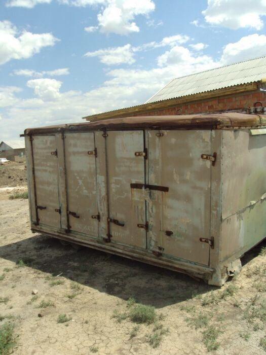 Фургон хлебный от грузовой автомашины