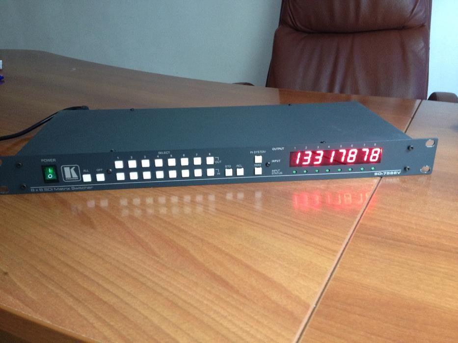 8x8 sdi video matrix switcher SD-7588V Kramer