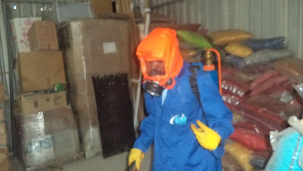 Limpeza especializada, Desinfestação e Desinfecção Geral e Alpinismo