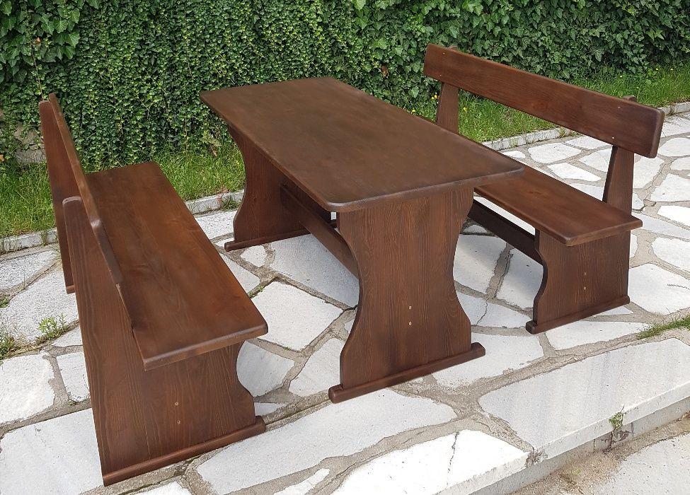 Баварска маса с пейки !