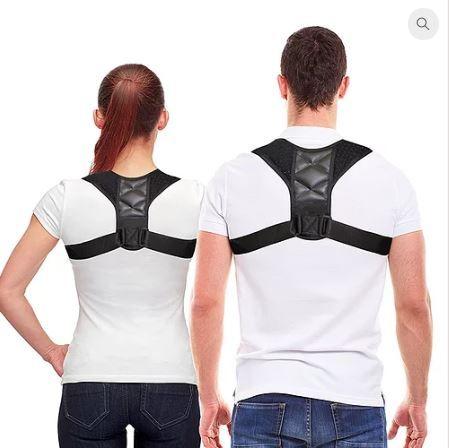 Corrector de postura para parte superior das costas UNISEXO e ajustáve