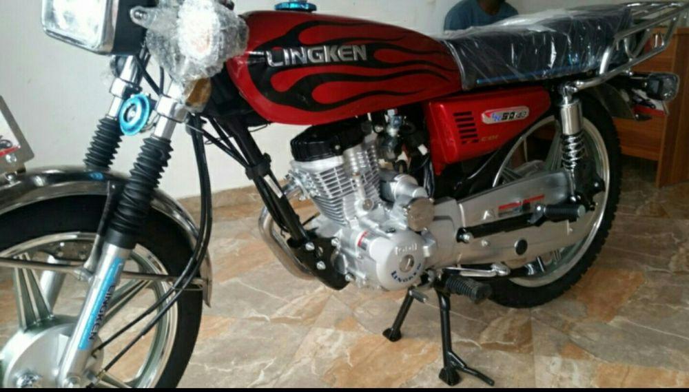 Moto de marca Lingken