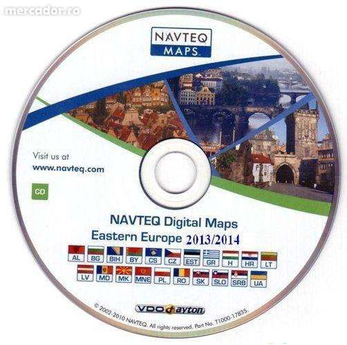 CD Harta Navigatie 70/90 NAVI OPEL Astra H, Corsa, Vectra, Zafira