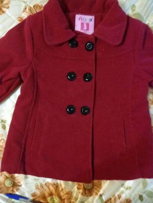 Красиво палтенце за малка дама