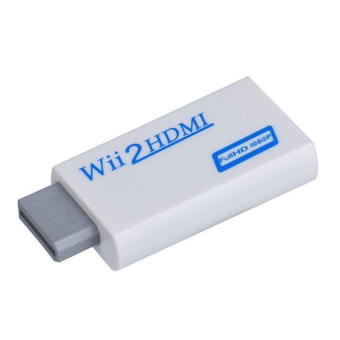 Adaptor convertor consola Nintendo Wii la HDMI cu 3.5mm Audio Full HD