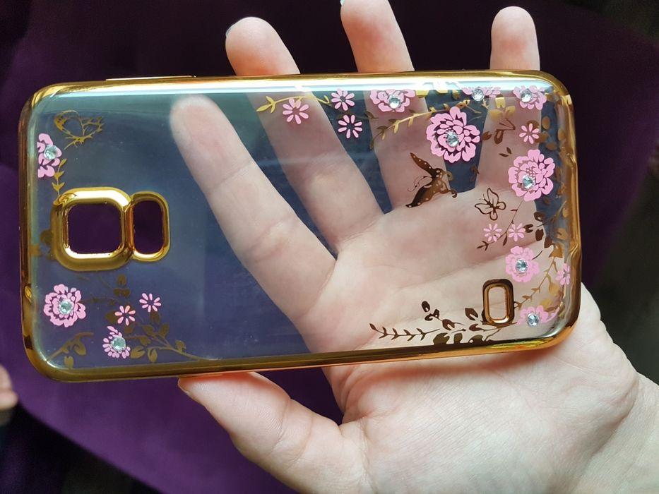 Чисто нов силикинов кейс за Samsung S5
