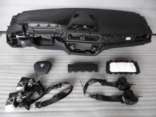 Bmw G30 G31 seria 5 kit airbag plansa bord centuri piele orice culoare