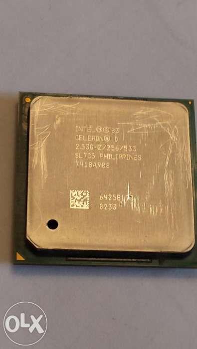 Procesor Intel CELERON 2,5 GHZ pentru calculator