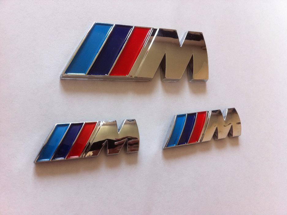 Set Embleme BMW M (aripi,spate/3BUCATI) ABS