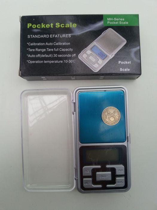 Чисто Нова Златарска Електронна Везна от 0.01 до 0.200 грама