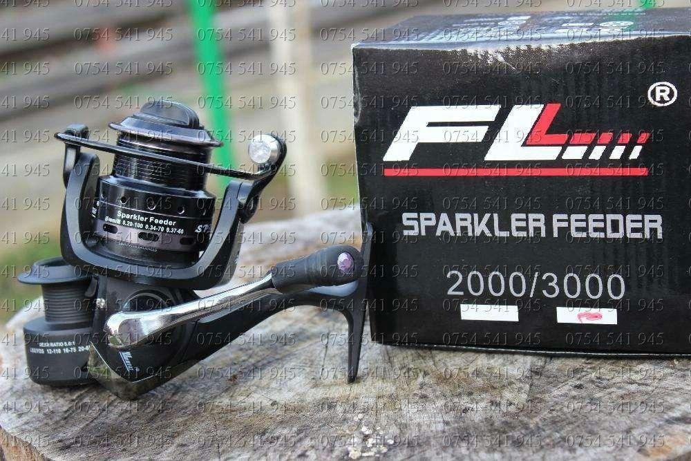 Mulineta FL Sparkler Feeder Rulmenti 10 Tambur Metalic Robusta