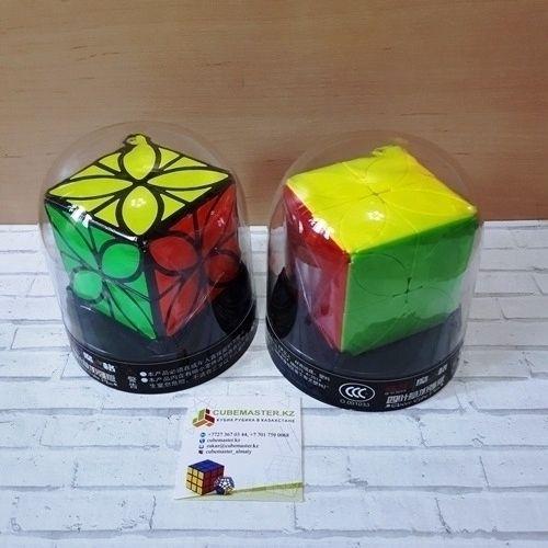 Головоломка для школьников и подростков QiYi Clover Cube Plus Кловер+