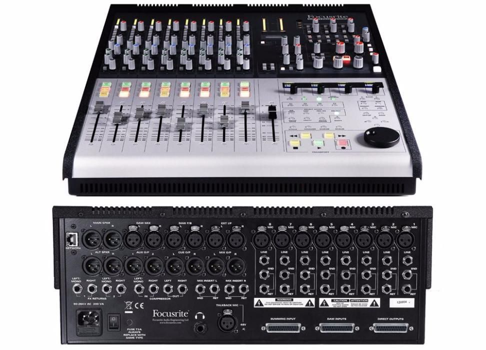 Продам Focusrite Control 2802 Small Format Analog Mixing Console with