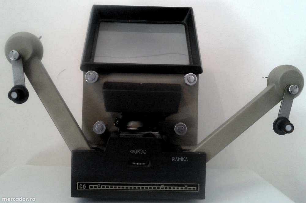 Masa de montaj film 8mm - CULAVA - C8 - U.R.S.S.