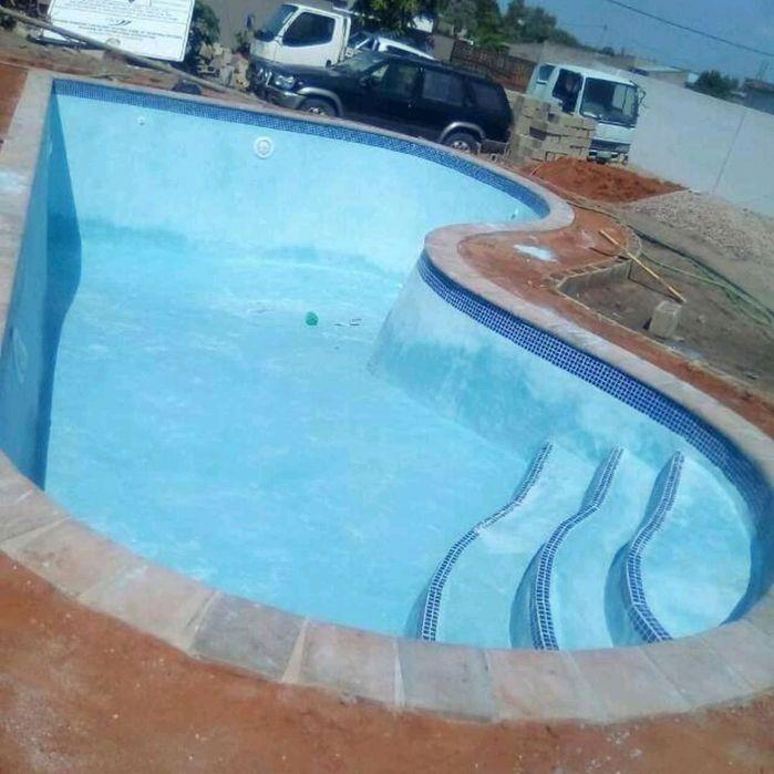 Construção de de piscinas