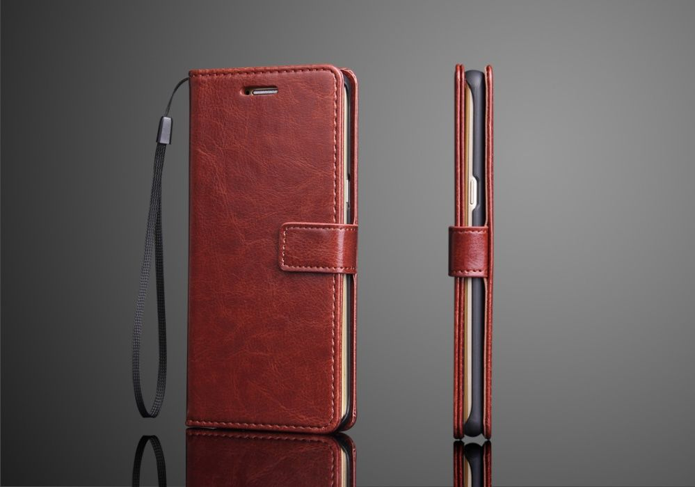 Husa/toc protectie superioara piele fina, Samsung NOTE 7, tip portofel