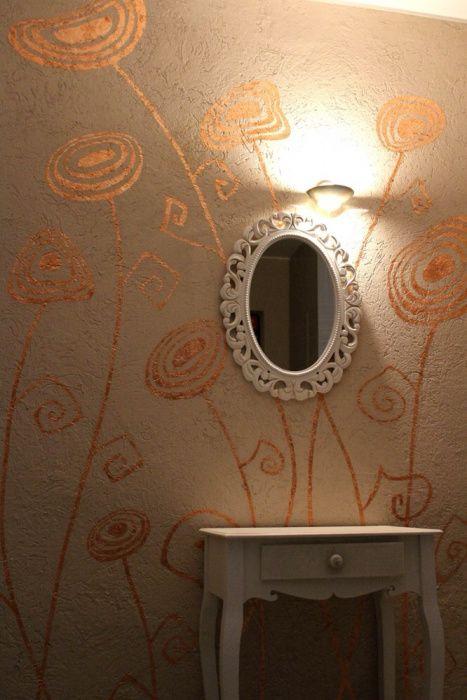 Pictura pe perete/ poleit cu foita/ design interior/exterior