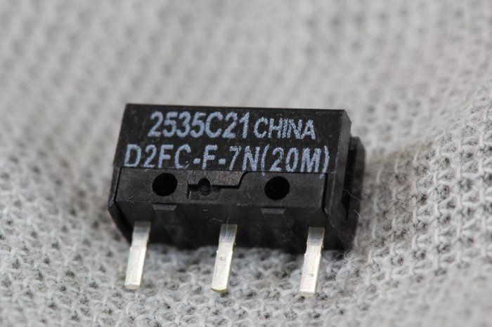 Micro Switch / Micro-Switch / Buton click mouse OMRON D2FC-F-7N (20M)
