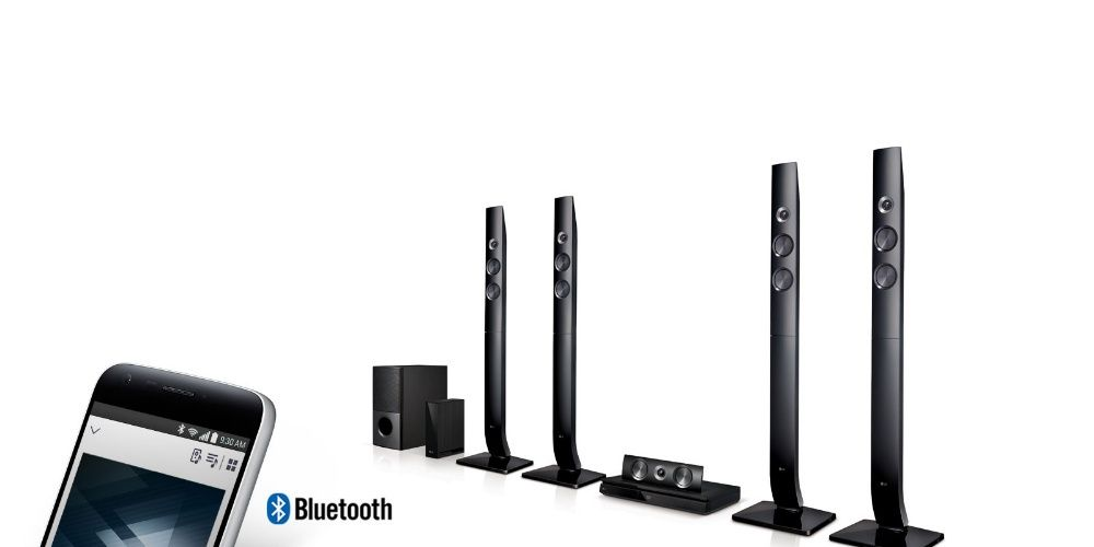 LG 5.1 home theater LHD756