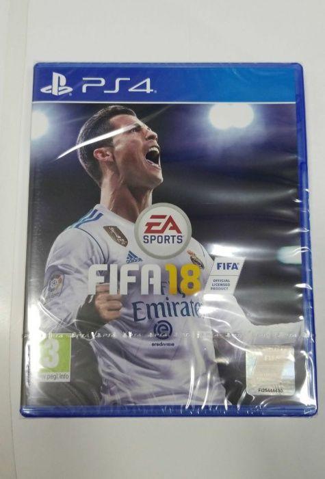 Jogo Para Ps4 FIFA 2018 selados