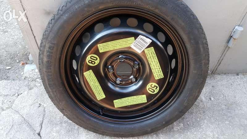 резервна гума патерица за ауди А8 и мерцедес S класа