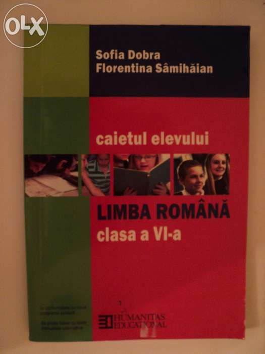Caiet Limba Romana cls VI-a