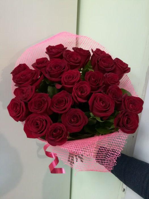 Букет из 25 роз в Астане