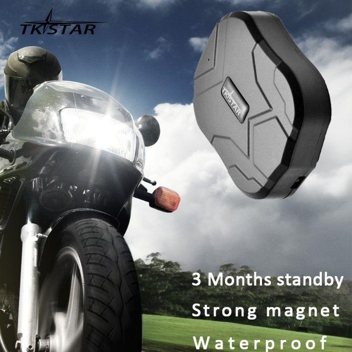 Tracker urmarire auto TK905 GPS 60 de zile magnet puternic web