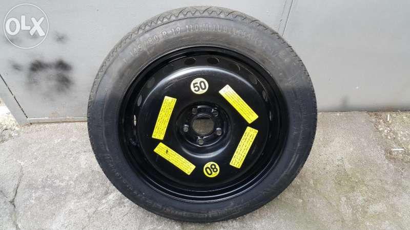 резервна гума патерица 19 и 20 цола за ауди А8 4H след 2010 година