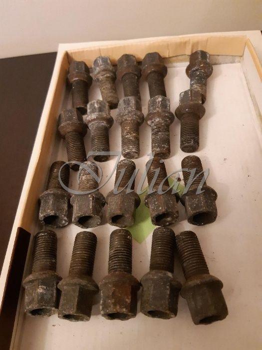 Set complet de 20 de suruburi pt roti M14x47mm