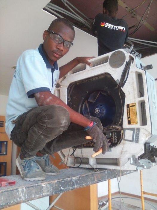 Reparação de ar condicionado profissional