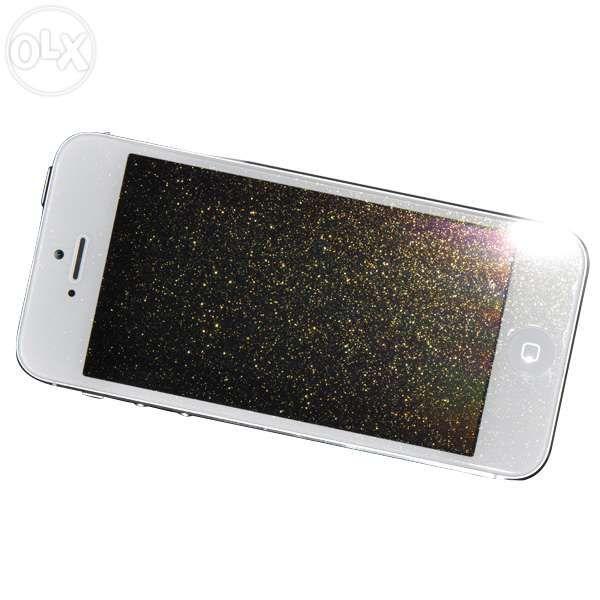 Folii cu sclipici, folie diamond pentru iPhone 4, 5, 5s, Samsung S4