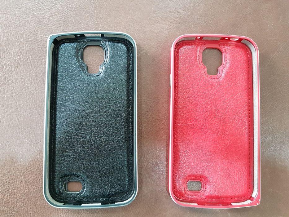 Продавам калъф за телефон- черен и червен Самсунг С 4