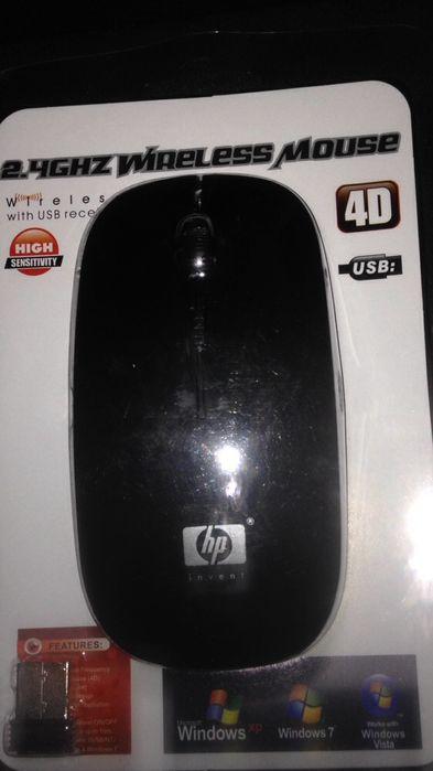 Mouse HP sem fio novinhos