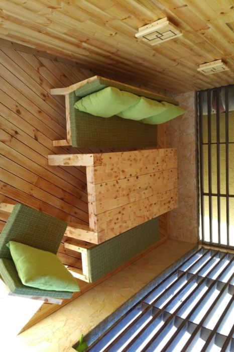 Set mobilier gradina lemn pin nordic