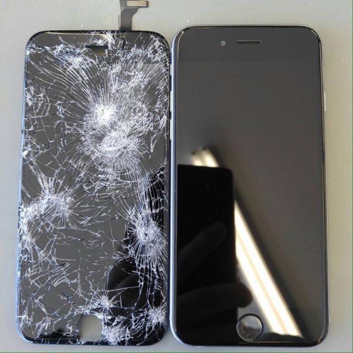 Disponível visor de iPhone 6