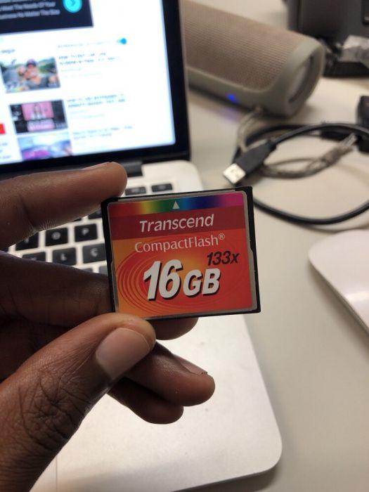 Cartão de memória Compact Flash
