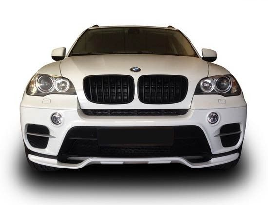 Обвес накладки на бампера Performance БМВ Х5 BMW X5 Е70 рестайлинг
