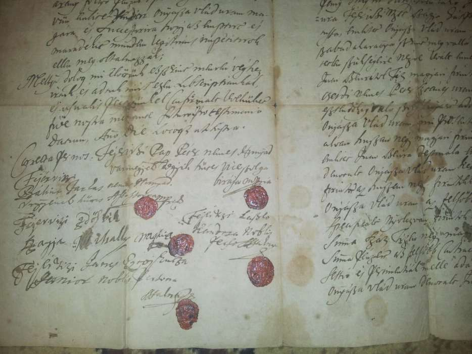 Document act foarte vechi pt cunoscatori