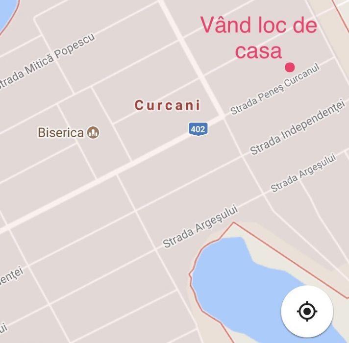 Vanzare  terenuri constructii Calarasi, Curcani  - 10000 EURO
