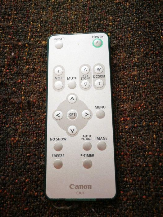 Telecomanda pentru proiector Canon CXJF