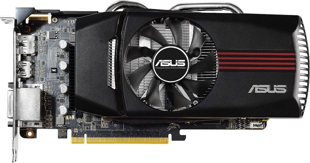 Видеокарта ASUS Radeon 7850 1Gb DDR5 256бит в отл.сост. мощная игровая