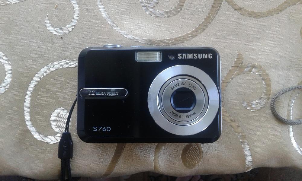 Продавам Фотоапарати Samsung S760 + Digimax
