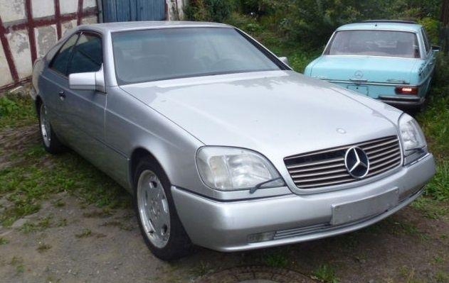 Mercedes-Benz CL 500 / Мерцедес СЛ 500 НА ЧАСТИ