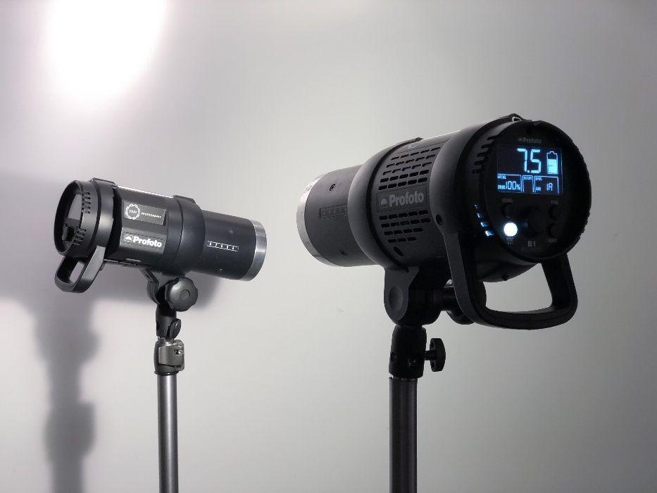 Kit 2x Blitz Studio Profoto B1 500W AirTTL + Acumulatori extra