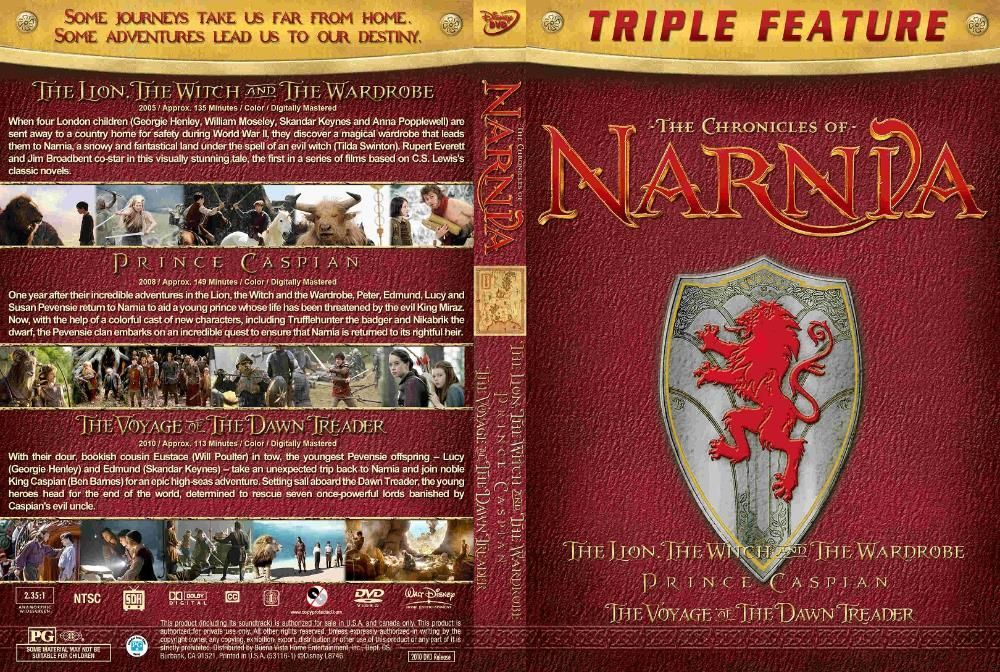 The Chronicles of Narnia Cronicile din Narnia TRILOGY