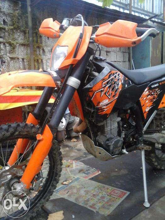 KTM 530 EXC-R,2008 Schimb cu ATV
