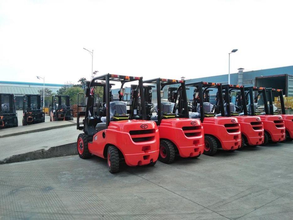 Motostivuitor/stivuitor diesel NOU 2,5T cu GARANTIE - DIN STOC